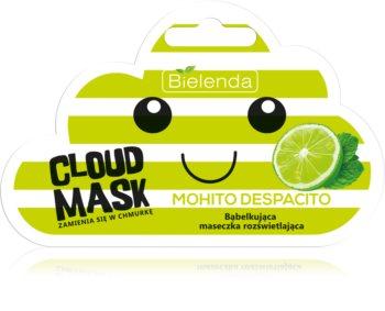 Bielenda Cloud Mask Mohito Despacito maschera illuminante viso