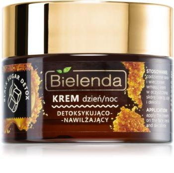 Bielenda Black Sugar Detox crème nettoyante et détoxifiante