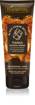 Bielenda Black Sugar Detox spuma pentru curatare si detoxifiere