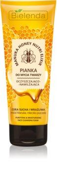 Bielenda Manuka Honey очищаюча пінка для шкіри обличчя
