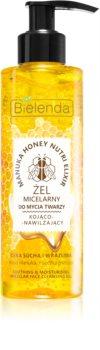 Bielenda Manuka Honey gel de curatare micelar pentru netezirea pielii