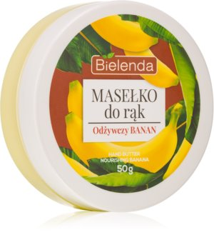 Bielenda Hand Butter Nourishing Banana βούτυρο για τα χέρια
