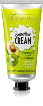 Bielenda Smoothie Prebiotic + Avocado + Kiwi нормализиращ крем за мазна кожа
