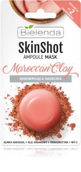 Bielenda Skin Shot Maroccan Clay maschera rigenerante viso