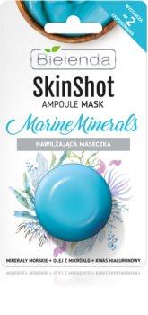 Bielenda Skin Shot Marine Minerals maschera idratante viso