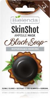 Bielenda Skin Shot Black Soap čisticí pleťová maska