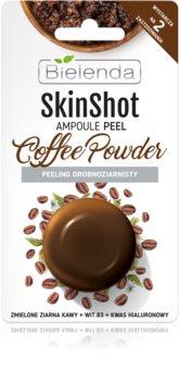Bielenda Skin Shot Coffee Powder maschera esfoliante per pelli grasse e miste
