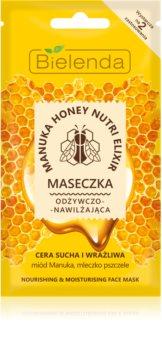 Bielenda Manuka Honey hydratační a vyživující maska