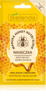 Bielenda Manuka Honey masque hydratant nourrissant