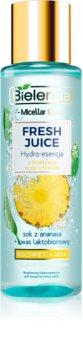 Bielenda Fresh Juice Pineapple Essenz für die Haut für hydratisierte und strahlende Haut