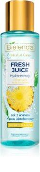 Bielenda Fresh Juice Pineapple esencja do twarzy do rozjaśnienia i nawilżenia