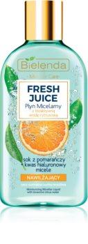 Bielenda Fresh Juice Orange feuchtigkeitsspendendes Mizellenwasser