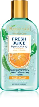 Bielenda Fresh Juice Orange зволожуюча міцелярна вода
