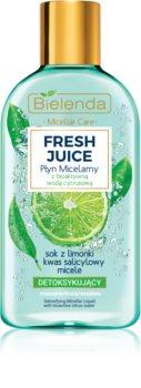 Bielenda Fresh Juice Lime Mizellenwasser für gemischte  und empfindliche Haut