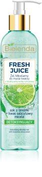Bielenda Fresh Juice Lime Cleansing Micellar Gel