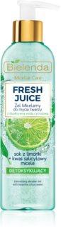 Bielenda Fresh Juice Lime gel de curatare micelar
