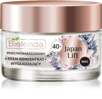 Bielenda Japan Lift crema de noapte care catifeleaza 40+