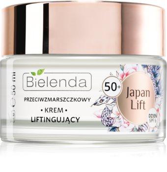 Bielenda Japan Lift crème lifting de jour anti-rides 50+