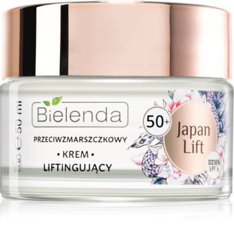 Bielenda Japan Lift dnevna lifting krema proti gubam 50+