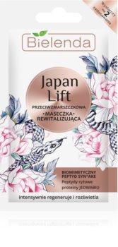 Bielenda Japan Lift maseczka z efektem przeciwzmarszczkowym
