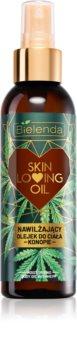 Bielenda Skin Loving Oil Hemp nährendes und feuchtigkeitsspendendes Öl