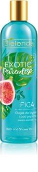 Bielenda Exotic Paradise Fig olejek pod prysznic i do kąpieli