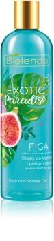 Bielenda Exotic Paradise Fig olio bagno e doccia