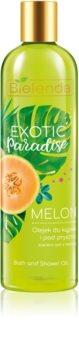 Bielenda Exotic Paradise Melon osvežilno olje za prhanje