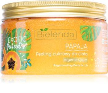 Bielenda Exotic Paradise Papaya Regenerating Scrub