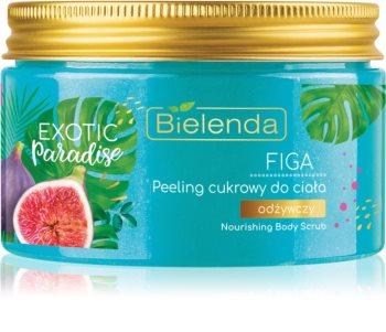 Bielenda Exotic Paradise Fig peeling cukrowy o działaniu odżywczym