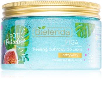 Bielenda Exotic Paradise Fig gommage au sucre effet nourrissant