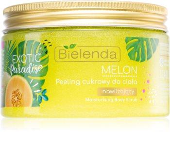 Bielenda Exotic Paradise Melon peeling hidratante de açucar