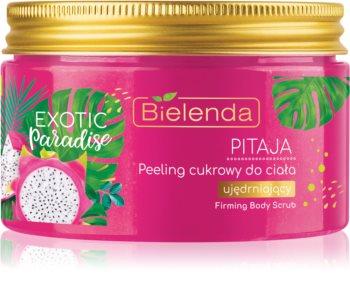 Bielenda Exotic Paradise Pitaya цукровий пілінг зі зміцнюючим ефектом