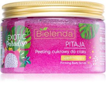 Bielenda Exotic Paradise Pitaya cukrový peeling se zpevňujícím účinkem
