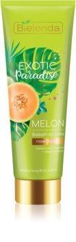 Bielenda Exotic Paradise Melon nawilżające mleczko do ciała