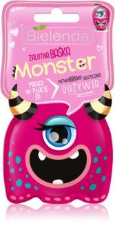 Bielenda Monster nourishing face sheet mask 3D