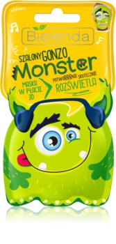 Bielenda Monster verhelderende sheet mask 3D