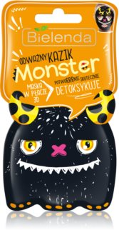 Bielenda Monster Detoksująca maska płócienna 3D