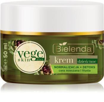 Bielenda Vege Skin Diet нормализиращ крем за мазна кожа