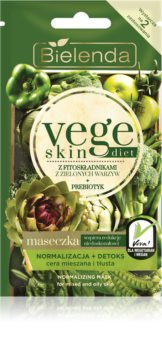 Bielenda Vege Skin Diet masca de normalizare pentru ten gras și mixt