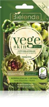 Bielenda Vege Skin Diet нормализираща маска за смесена и мазна кожа