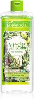 Bielenda Vege Skin Diet eau micellaire pour peaux grasses et mixtes