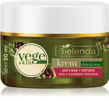 Bielenda Vege Skin Diet crema detossinante  antirughe