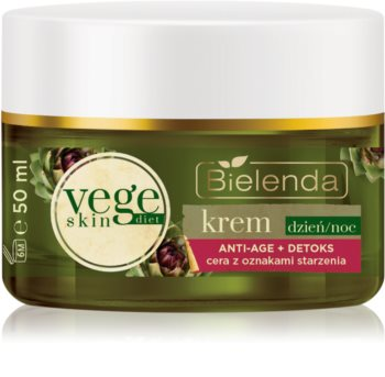 Bielenda Vege Skin Diet Detoxifying  Cream with Anti-Wrinkle Effect