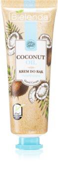 Bielenda Coconut Oil feuchtigkeitsspendende Creme für die Hände