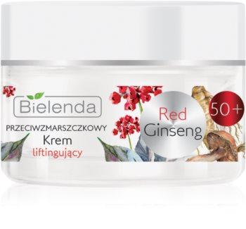 Bielenda Red Gingseng lifting krema za pomlađivanje 50+