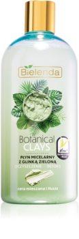 Bielenda Botanical Clays eau micellaire détoxifiante à l'argile