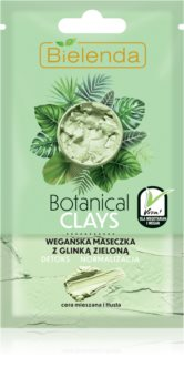 Bielenda Botanical Clays Cleansing Detox Mask for Oily and Combination Skin