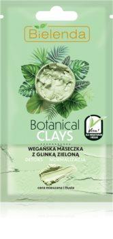 Bielenda Botanical Clays masca detoxifiere și curățare  pentru ten gras și mixt