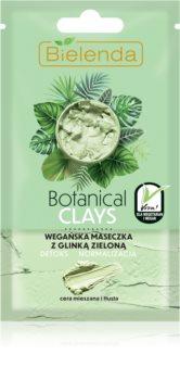 Bielenda Botanical Clays maska za čišćenje i detoksikaciju za mješovitu i masnu kožu
